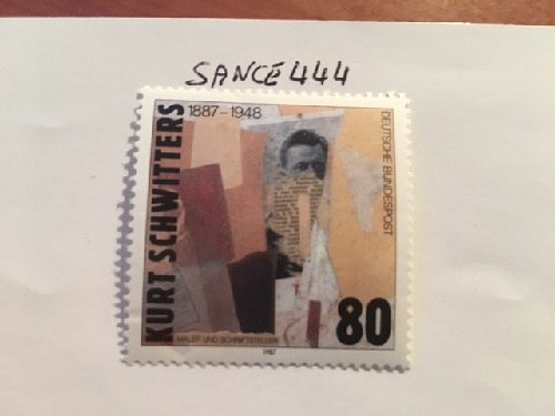 Germany K. Schwitters mnh 1987