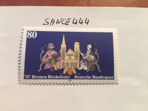 Germany Bremen bishop city mnh 1987