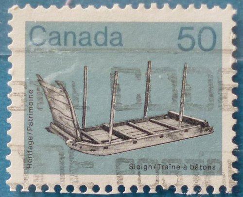 Stamp Canada 1985 Old Utensils 50c