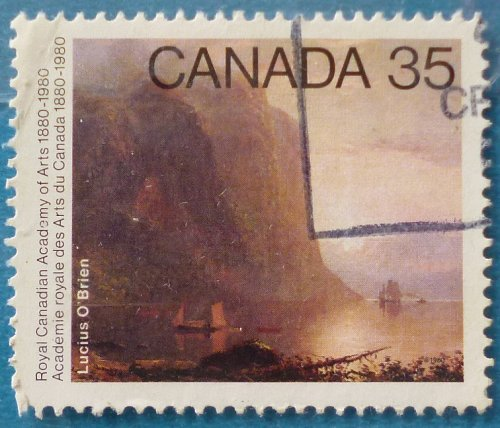 Stamp Canada 1980 The 100th Anniversary of the Royal Canadian Academy of Arts 35c