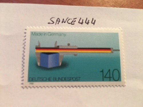 Germany Made in Germany mnh 1988