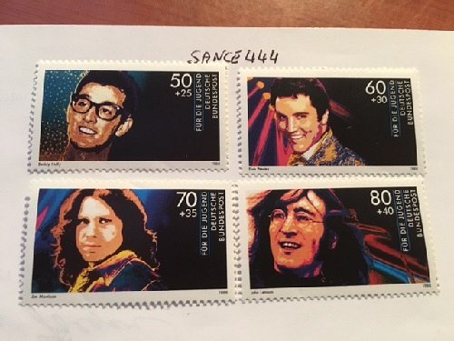 Germany Pop musicians mnh 1988