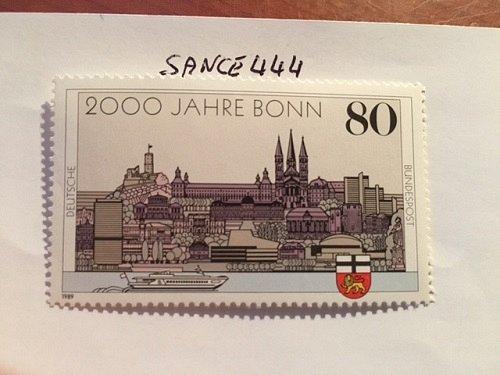 Germany 2000 years Bonn mnh 1989