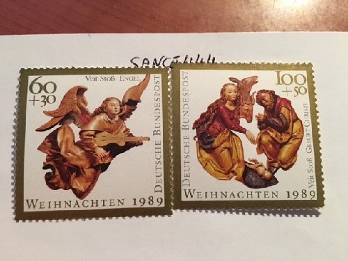 Germany Christmas mnh 1989