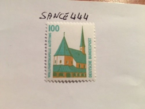 Germany Sights 100p mnh 1989