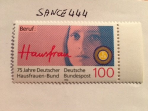 Germany Householding women association mnh 1990