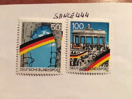Germany Opening of Berlin Wall mnh 1990