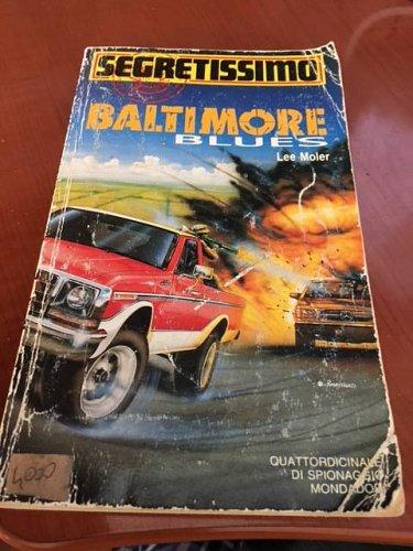 Italian book Segretissimo Baltimore Blues n.1219 libro