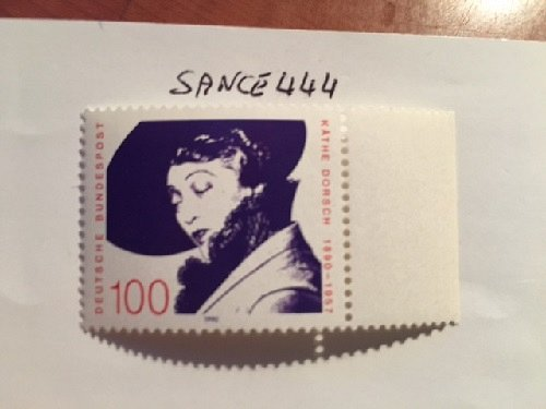 Germany Kathe Dorsch mnh 1990