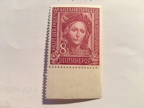 Germany Charity 8+2p mnh 1949