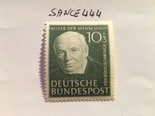 Germany Charity 10+3p mnh 1951