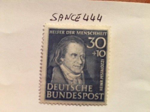 Germany Charity 30+10p mnh 1951