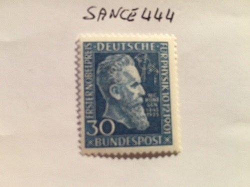 Germany Wilhelm Röngten's Nobel prize mnh 1951
