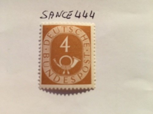 Germany Definitives Posthorn 4p mnh 1951