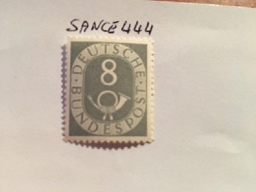 Germany Definitives Posthorn 8p mnh 1951