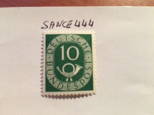 Germany Definitives Posthorn 10p mnh 1951