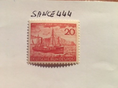 Germany Helgoland mnh 1952