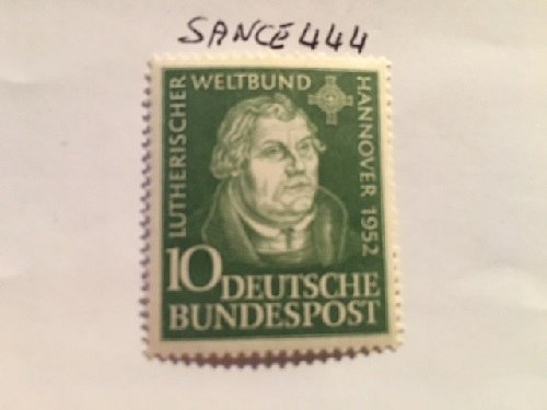Germany Martin Luther mnh 1952