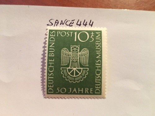 Germany German museum mnh 1953