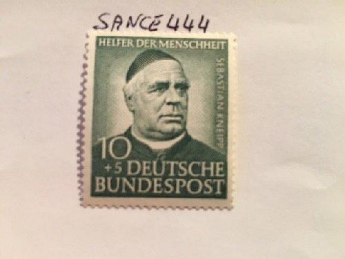 Germany Charity 10+5p mnh 1953