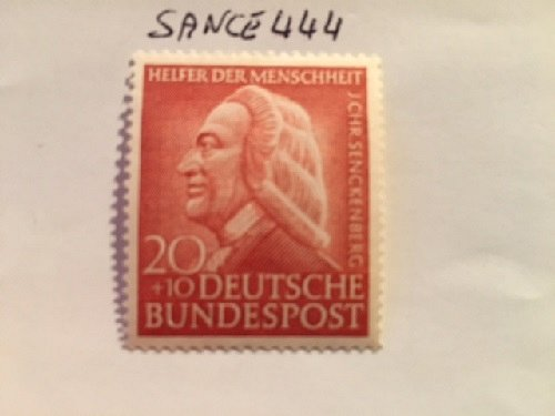 Germany Charity 20+10p mnh 1953