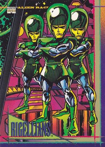 Rigellians #126- Marvel Comic 1993 Trading Card