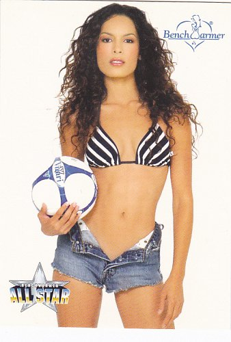 Nadine Velasquez #255 - Bench Warmers 2003 Sexy Trading Card