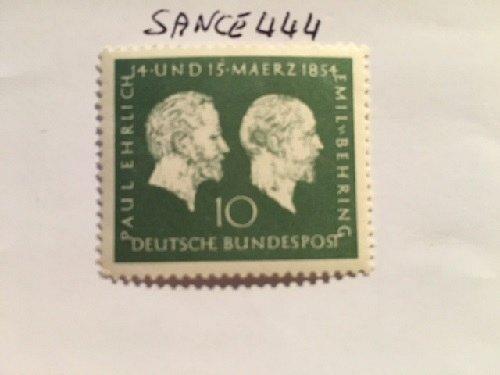 Germany Ehrlich Behring mnh 1954