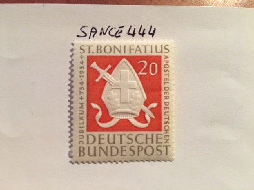 Germany Bonifatius mnh 1954