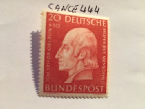 Germany Welfare famous Johann Oberlin mnh 1954