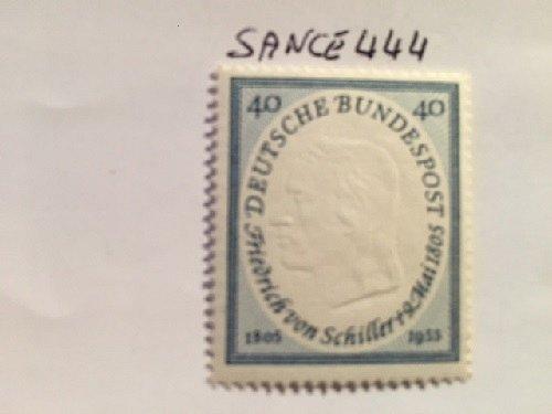 Germany F. von Schiller mnh 1955