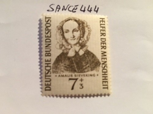 Germany Welfare Amelie Sieveking mnh 1955