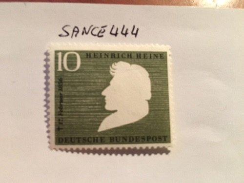 Germany Heinrich Heine mnh 1956