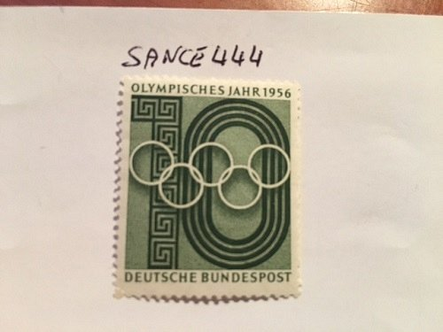Germany Olympic games mnh 1956