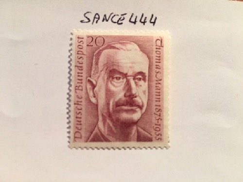Germany Thomas Mann mnh 1956