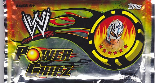 2011 Topps WWE Power Chipz Factory Sealed Pack