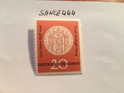 Germany Aschaffenburg millennium mnh 1957