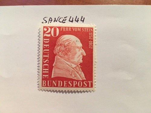 Germany Boron vom Stein mnh 1957