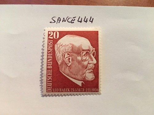 Germany Leo Baeck mnh 1957
