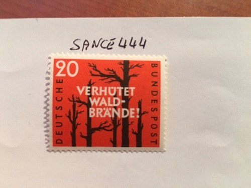 Germany Forest fire prevention mnh 1958