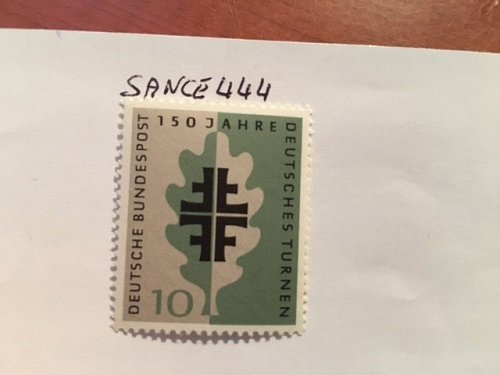 Germany 150 Years of German Turners mnh 1958