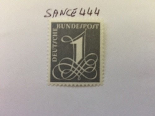 Germany Definitive numeral mnh 1958