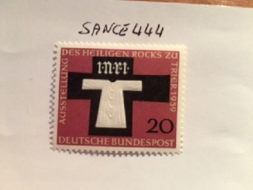 Germany Holy Rock exposition mnh 1959