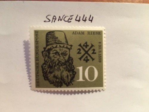 Germany Adam Riese mnh 1959