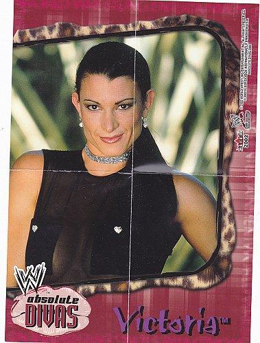 Victoria - WWE Absolute Divas 2002 Wrestling Mini Poster