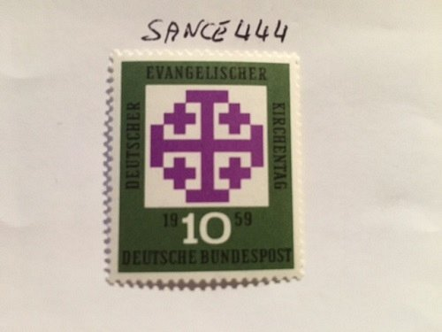Germany Evangelical day mnh 1959
