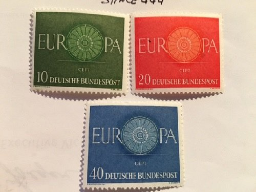 Germany Europa mnh 1960