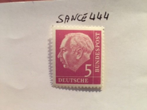 Germany Definitive Heuss 5p mnh 1960