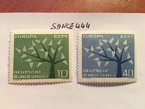 Germany Europa 1962 mnh