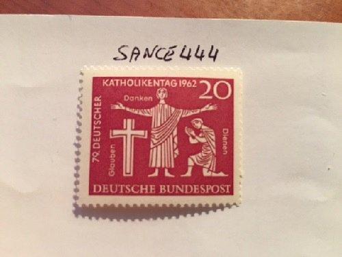 Germany Catholic day mnh 1962